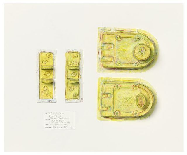 Do Ho Suh, 'Rubbing/Loving Project: Deadbolt, Unit 2, 348 West 22nd Street, New York, NY 10011, USA', 2015, Lehmann Maupin