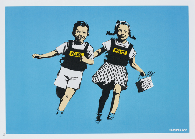 Banksy, 'Police Kids (Jack and Jill)', 2005, Phillips