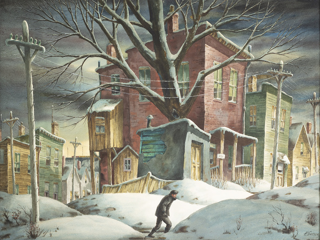 Henry Martin Gasser, 'Flat to Let ', Date Unknown, Questroyal Fine Art
