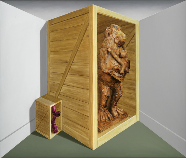 , 'Baboon and Dog,' 2010, Flowers