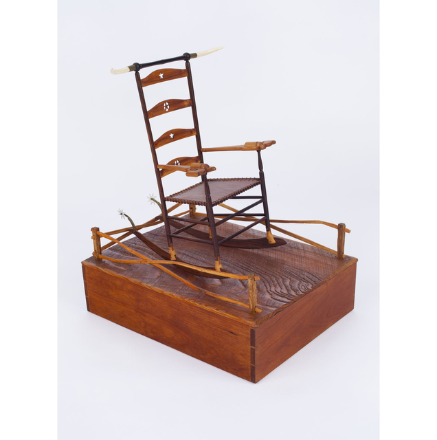 , 'Texas Shaker Rocker,' 1984, Allan Stone Projects