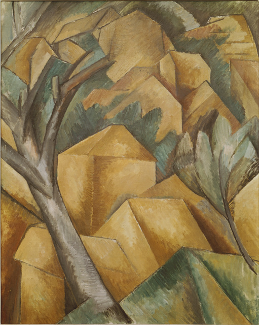 Georges Braque, 'Houses at L'Estaque', 1908, Painting, Art Resource