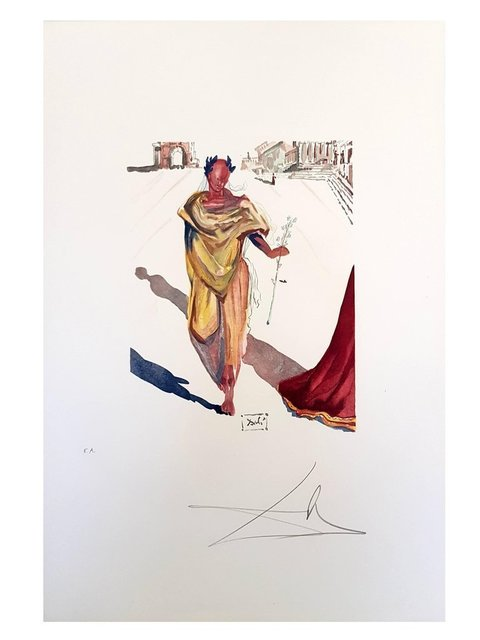 """Salvador Dalí, 'Etching """"Art Of Love"""" by Salvador Dali', 1979, Galerie Philia"""