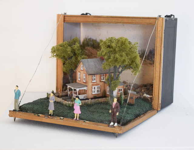 , 'Cigar Box Diorama One (Night of the Living Dead),' 2013, Fountain House Gallery