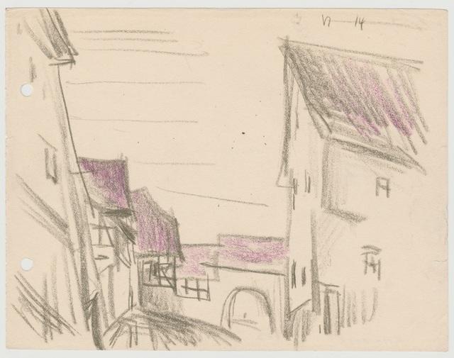, 'Dorfstrasse,' 1914, Henze & Ketterer
