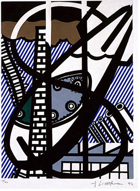 Roy Lichtenstein, 'Une Fenêtre ouverte sur Chicago', 1992, Galerie Maximillian