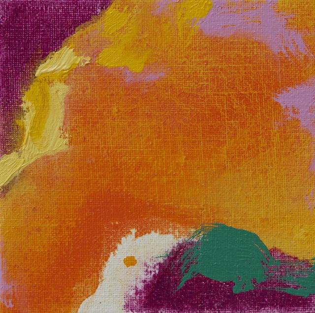 , 'Orange, Magenta, Emerald,' 2018, Trish Clark Gallery
