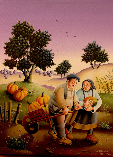 , 'Pumpkin Harvest,' 2014, GINA Gallery