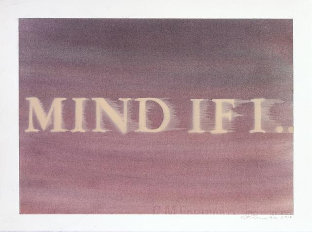 , 'Mind If I...,' 2014, Gagosian