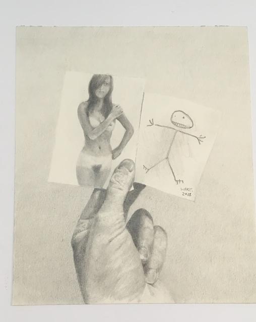 , 'full frontal nudity 1,' 2018, Galerie Michaela Stock