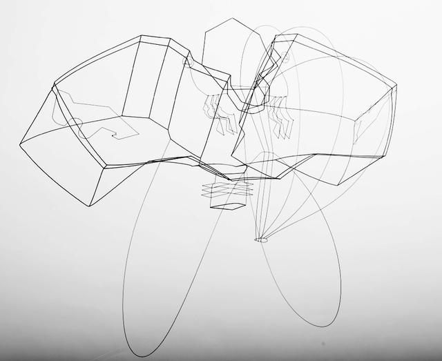 , 'Micro Orbit,' 2014, Rotwand