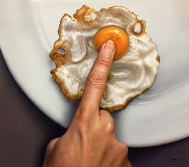 Bernardo Torrens, 'Don't Touch My Egg', 2018, Louis K. Meisel Gallery