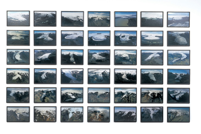 , 'The glacier series,' 1999, Langen Foundation