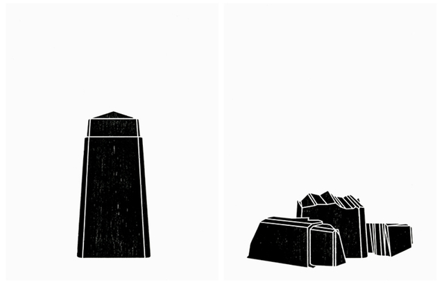 , 'Les nouveaux monuments,' 2015, Atelier-Galerie A.Piroir