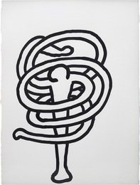 Keith Haring, 'Untitled (October 4, 1989),' 1989, Phillips: 20th Century and Contemporary Art Day Sale (February 2017)