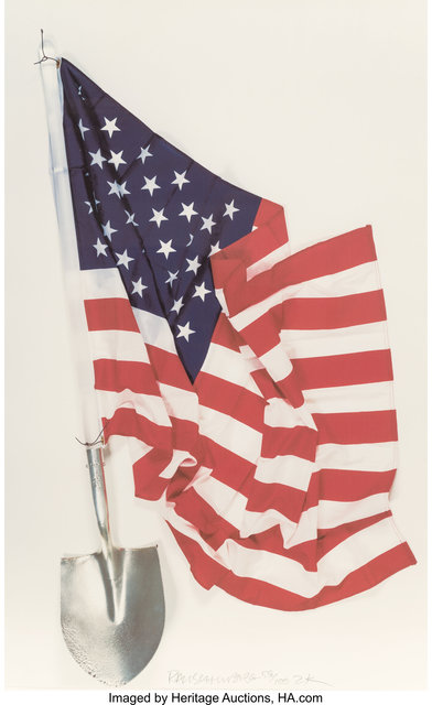 Robert Rauschenberg, 'Democratic Presidential Campaign Print', 2000, Print, Ink jet print in colors on paper, Heritage Auctions