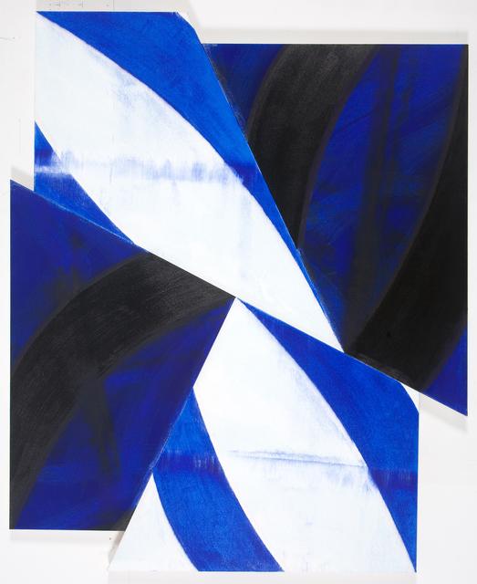 Charles Arnoldi, 'Bullpen (irregular)', 2009, Painting, Acrylic on Canvas, Newzones