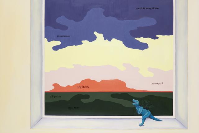 , 'Shy Cherry,' 2017, Nancy Hoffman Gallery