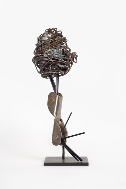 Philadelphia Wireman, 'Untitled (Wrench set form)', c. 1970–75, Sculpture, Wire, found objects, Fleisher/Ollman