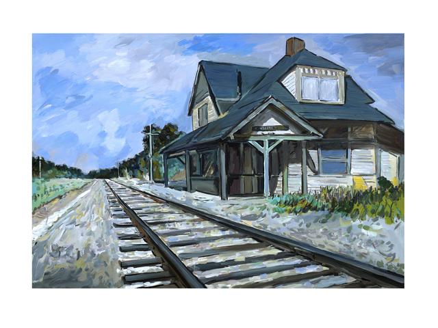 , 'New England Depot (2019),' 2019, Castle Fine Art