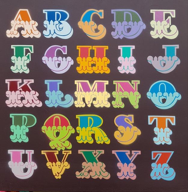 Ben Eine, 'Circus Alphabet - Canvas', 2008, Hidden