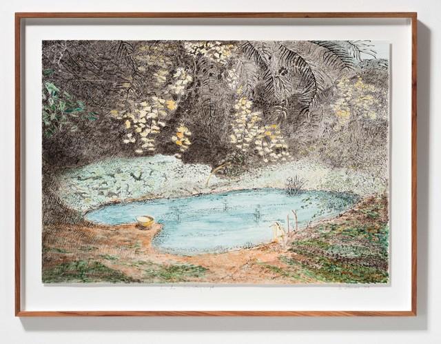 , 'Postcards from Africa: Sierra-Leone – Women bathing in a pool,' 2019, Goodman Gallery