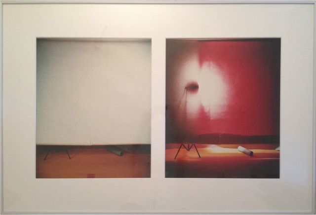 , '(No. 3) White Over Red with Front Light and White Over Red with Rear Light,' 1978, Gavlak