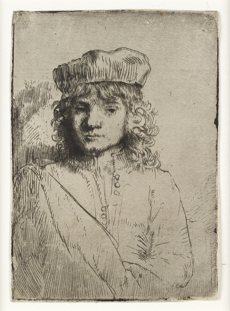 , 'The Artist's Son, Titus,' 1656, The National Gallery, London