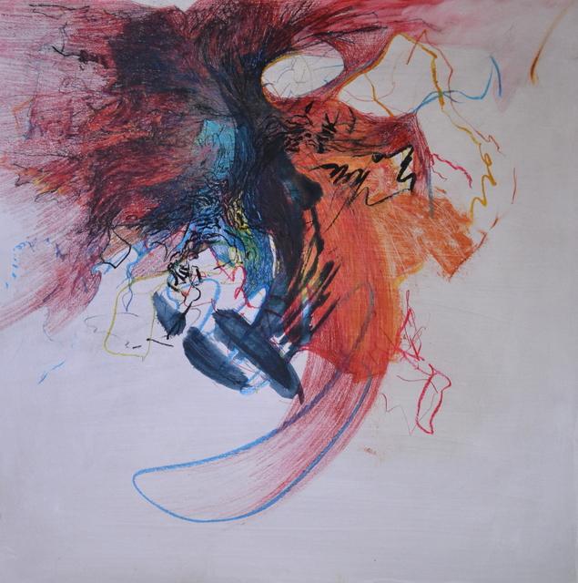 Emma C. Aspeling, 'Until it changes ', 2019, Painting, Mixed media on board, 99 Loop Gallery