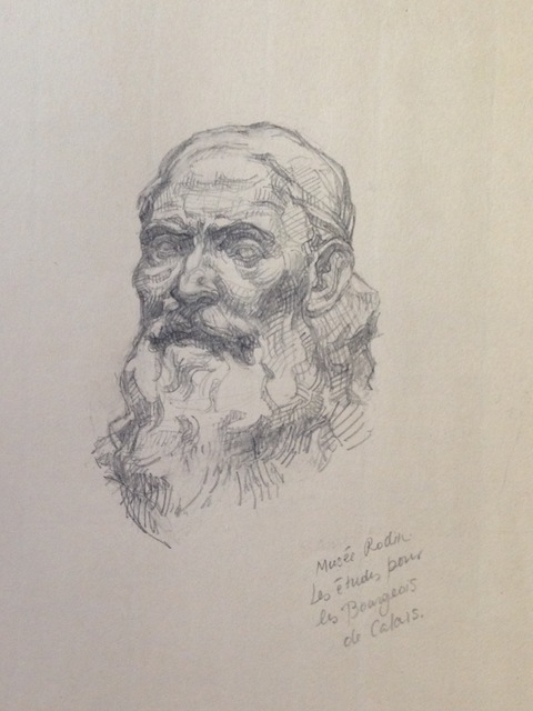 , 'After Rodin's studies for the Burghers of Calais (Musee Rodin),' , Stanek Gallery