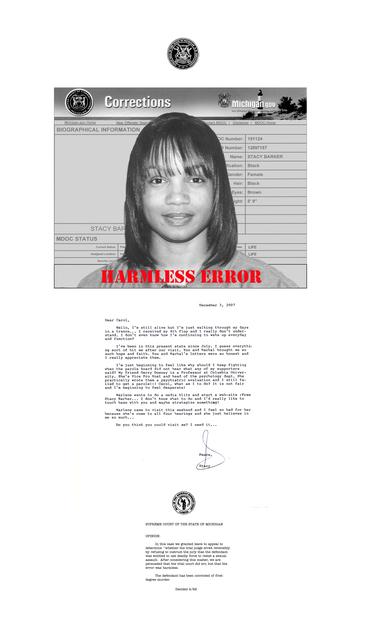Carol Jacobsen, 'Letter of the Law: Stacy', 2019, Denise Bibro Fine Art