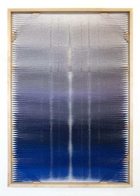 Rachel Mica Weiss, 'Woven Screen (Night Gradient)', 2019, Heather Gaudio Fine Art