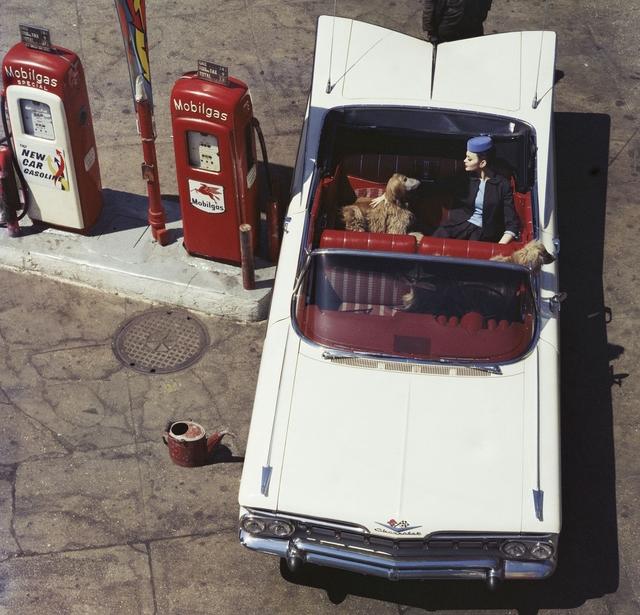 , 'Chevrolet Impala + Gas Pumps, 6th Avenue, New York,' 1959, Howard Greenberg Gallery