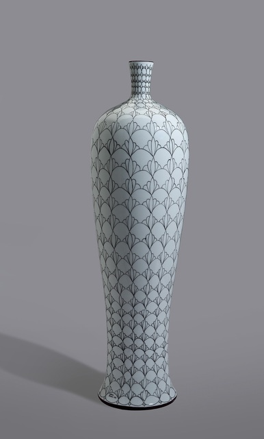 "Melanie Sherman, 'Vase with ""Fächer"" Pattern', 2016, Cerbera Gallery"