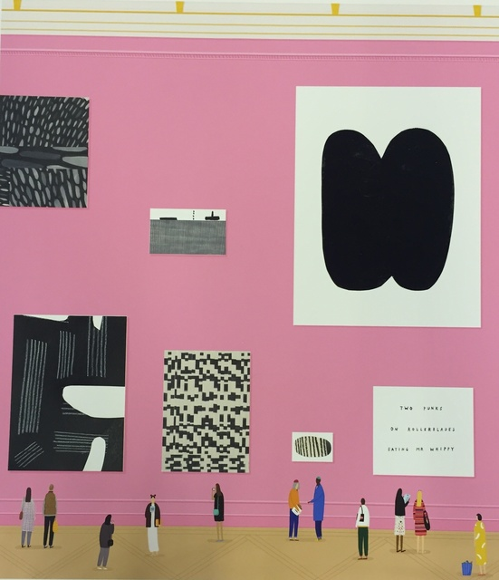 , 'Pink Wall,' 2015, Rebecca Hossack Art Gallery