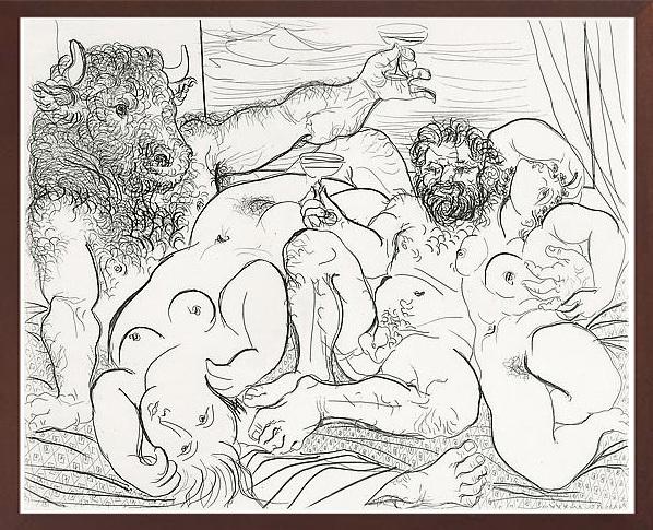 Pablo Picasso, 'Scene Bacchique au Minotaure', 1933, Robin Rile Fine Art