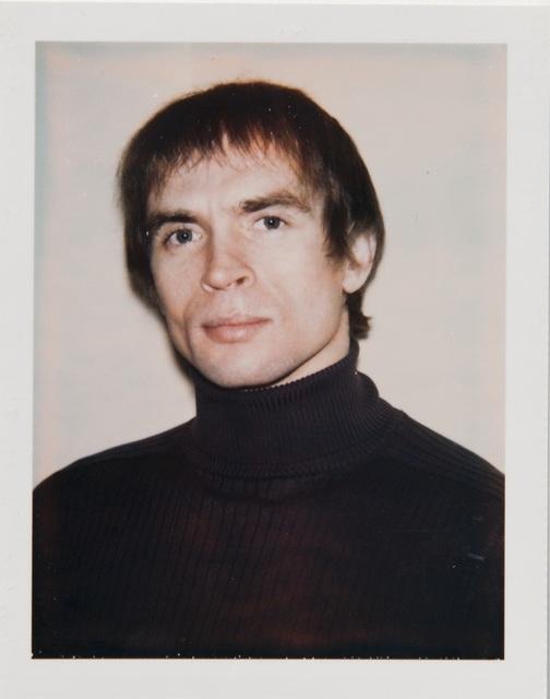 , 'Andy Warhol, Polaroid Portrait of Rudolf Nureyev,' ca. 1971, Hedges Projects