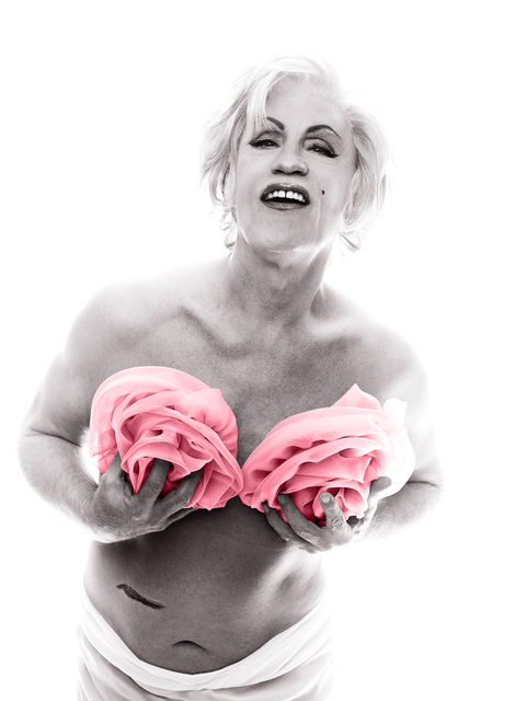 Sandro Miller, 'Bert Stern / Marilyn in Pink Roses (From The Last Session), 1962 ', 2014, Fahey/Klein Gallery