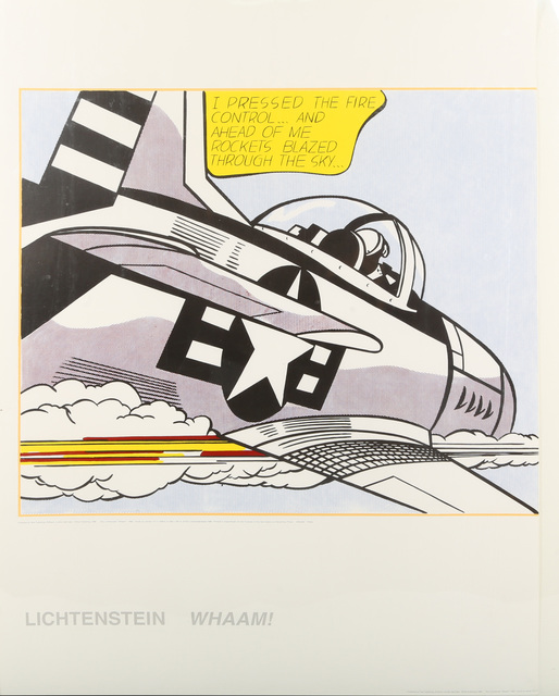 Roy Lichtenstein, 'Whamm!', 1963, Chiswick Auctions