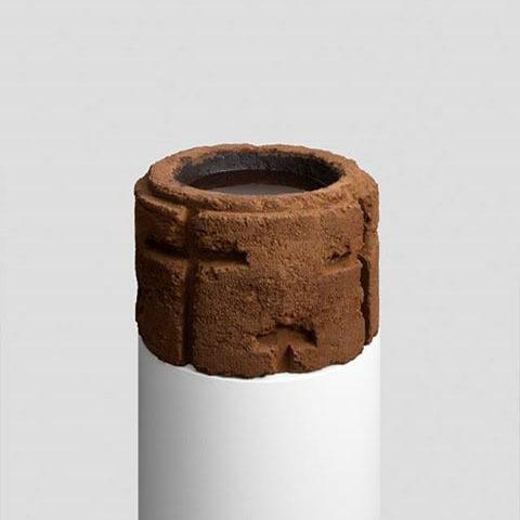 Mehdi-Georges Lahlou, 'Bénitier', 2017, Sculpture, Cinnamon, epoxy, water, Transit