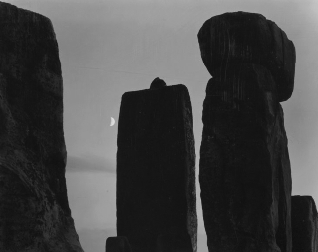 , 'Stonehenge with Moon, England,' 1972, Obscura Gallery