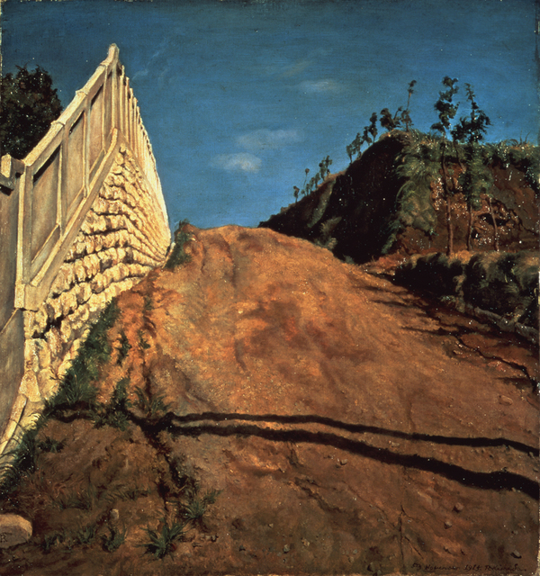 , 'Road Cut Through a Hill,' 1915, The National Museum of Modern Art, Tokyo