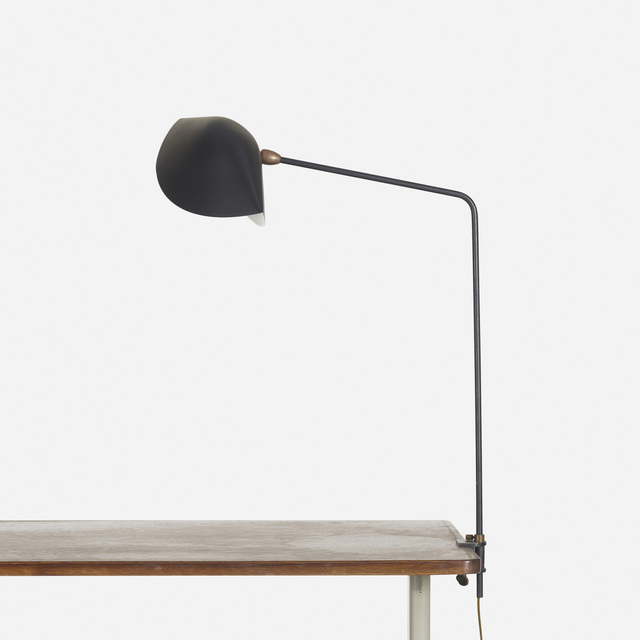 Serge Mouille, 'Agrafee table lamp', 1956, Wright