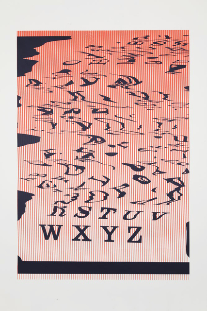 Matt Keegan, 'WXYZ', 2013, Altman Siegel