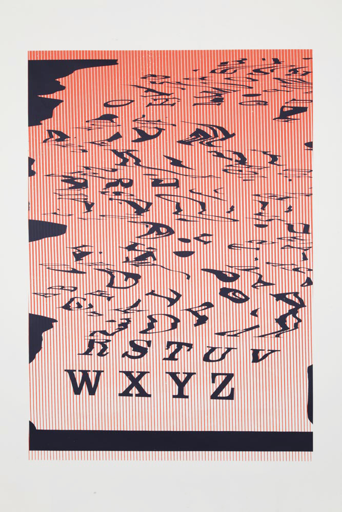 Matt Keegan, 'WXYZ,' 2013, Altman Siegel