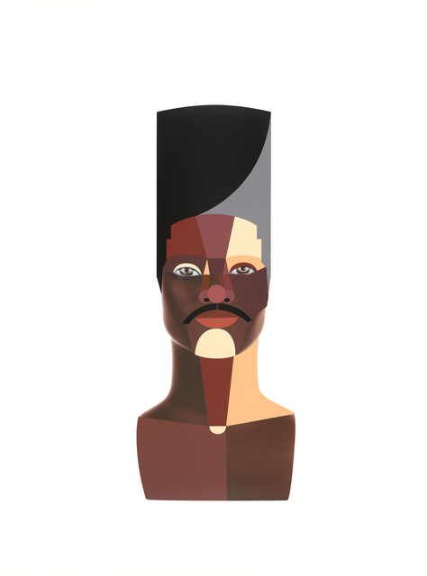 Derrick Adams, 'Style Variation 3 (High Top)', 2020, Print, Screen print and archival inkjet on paper, Hang-Up Gallery