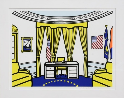 , 'Oval Office,' 1992, michael lisi / contemporary art
