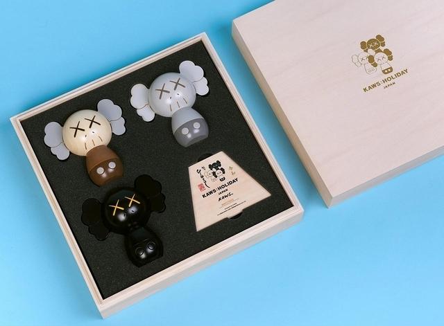 KAWS, 'KAWS: HOLIDAY Japan Kokeshi Doll Set', 2019, Sculpture, Wood, Der-Horng Art Gallery