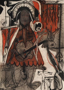 """, 'Devotional Images Serie """"D"""",' 1982, 80M2 Livia Benavides"""