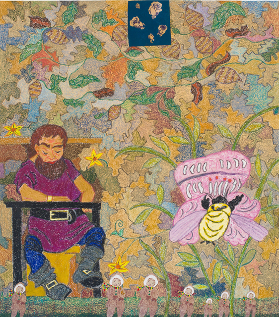 , 'The Giant and the Bumblebee,' 2017, DC Moore Gallery
